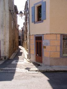 Narrow street in Tuchan