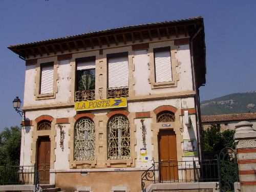 The Art Nouveau Post Office in Tuchan