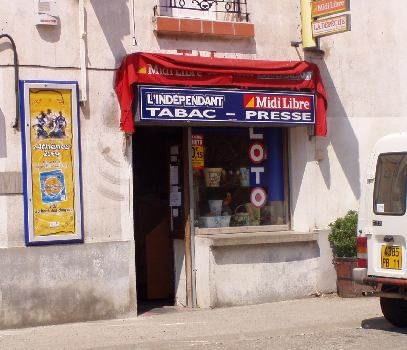 Tabac in Tuchan